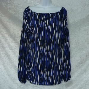 Womens Worthington Top Long Sleeves Stretch size M